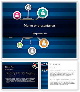Online Business Networking PowerPoint Template | PowerPoint Presentations and Templates | Scoop.it