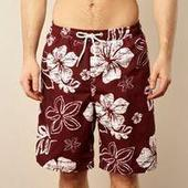 Dark Red Floral Print Board Sorts - Just Be Fancy | Online Clothes for Men | Scoop.it