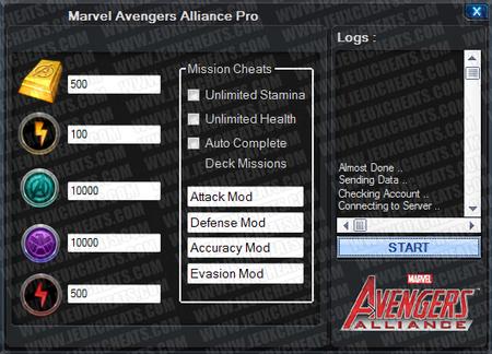 Marvel: Avengers Alliance - Super Hacks | Facebook Game Hacks | Scoop.it