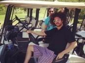 Photo : Red Foo (LMFAO) : une sacré dégaine, même quand il fait du golf ! | Golf News by Mygolfexpert.com | Scoop.it