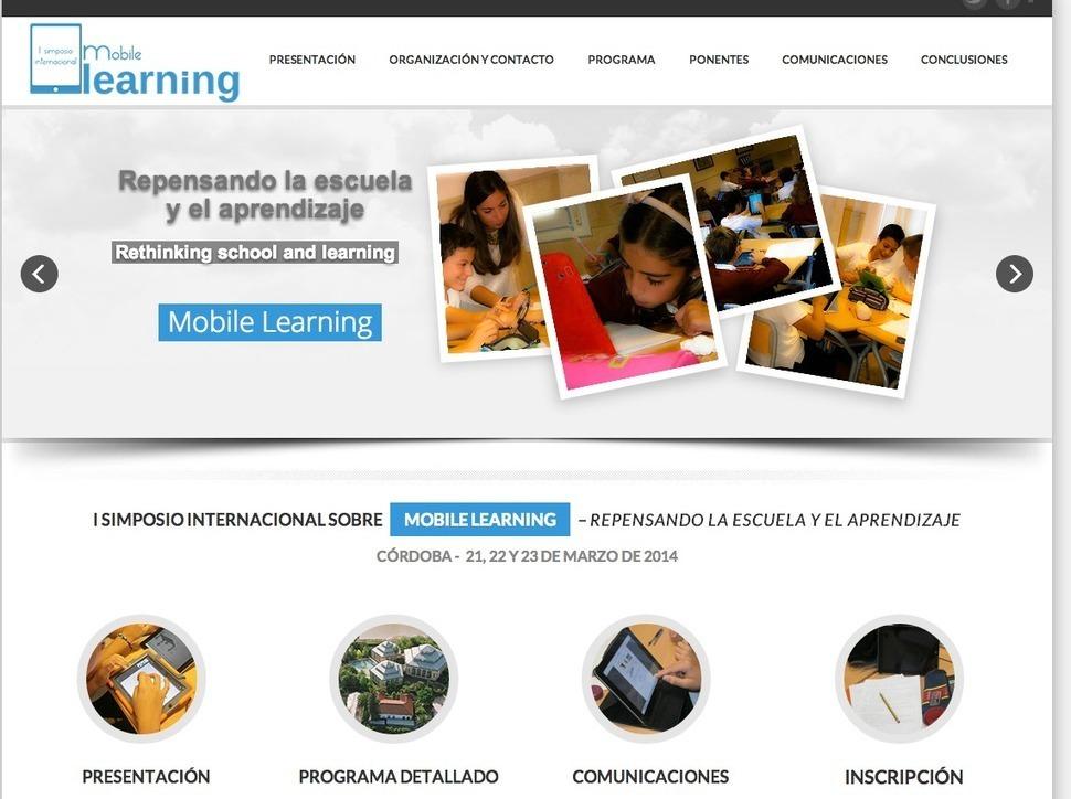 Talento y Educación :: Javier Tourón: La personalización del aprendizaje una tendencia imparable. El simposio sobre mobile learning en Córdoba (21-23 Marzo 2014)
