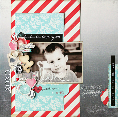 Lilith's scrapbooking venture: La_la_la_love you | Digital Stamping and Papercrafts | Scoop.it