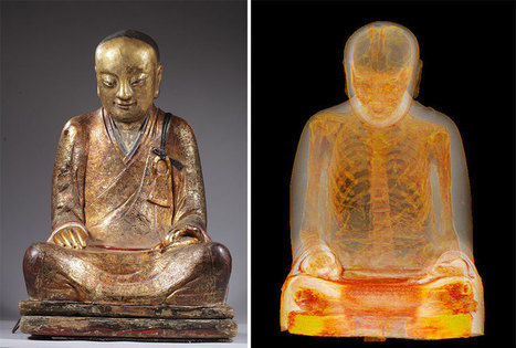CT Scans Reveal 1,000-Year-Old #Mummy Of #Chinese #Monk Hidden Inside Ancient #Buddhist #Statue #art | Luby Art | Scoop.it