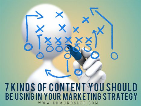 7 Kinds of Content You Should Be Using in Your Marketing Strategy | Web Content Strategy | Scoop.it