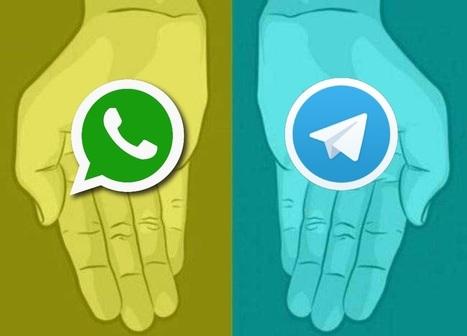 Telegram vs WhatsApp: la nuova sfida del marketing | Social media culture | Scoop.it