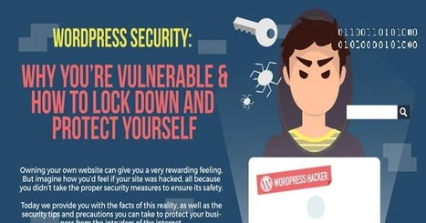 How to Secure Your WordPress Website Today (Infographic) | GUI Tricks - In Touch With Tomorrow! | Posts | Scoop.it