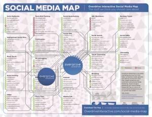 "Social Media Landkarte » 121WATT | ""Socialmedia für Unternehmen"" | Scoop.it"