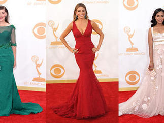 Emmys red carpet fashion: The hottest looks of the night - CBS News | Fashion | Scoop.it