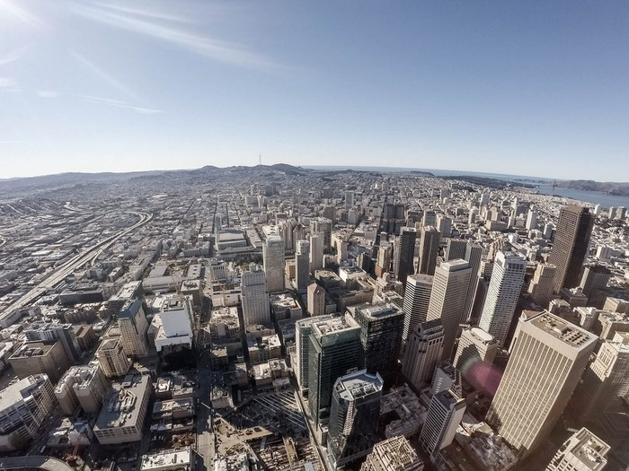 View from Benioff's Future Office - Top of Salesforce Tower | San Francisco Real Estate News | Scoop.it