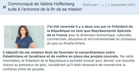 Israël : la candidate UMP Valérie Hoffenberg limogée par Juppé | Français à l'étranger : des élus, un ministère | Scoop.it