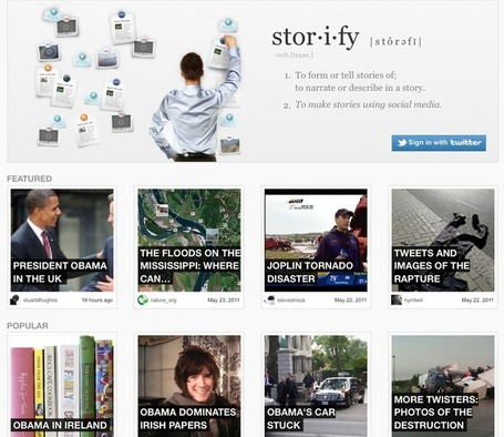 Storify, un social media per raccontare eventi | Social Media (network, technology, blog, community, virtual reality, etc...) | Scoop.it