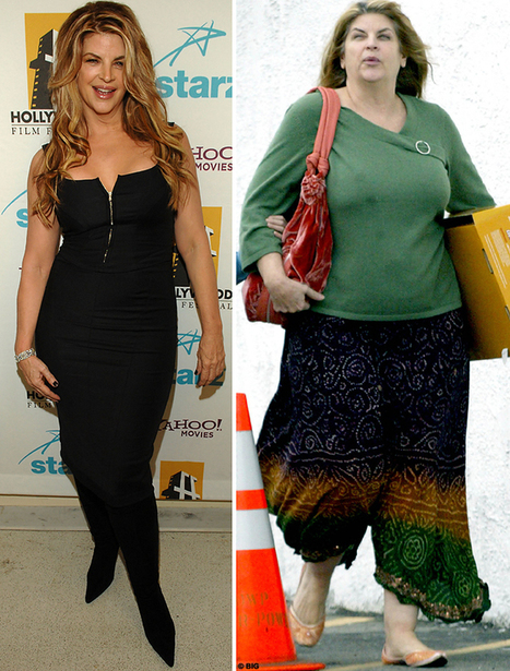 Dieting Delilah » Blog Archive Kirstie Alley's weight roller coaster | PersonalTraining | Scoop.it