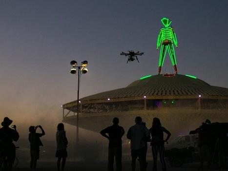 Personal Drones Fly Above Burning Man - IEEE Spectrum   UAV, UAS, Robotics   Scoop.it