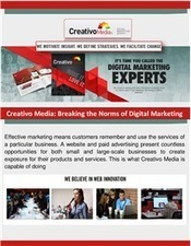 Creativo Media: Breaking the Norms of Digital Marketing | Get Noticed On the Web! | Scoop.it