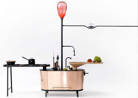 Philips invente la cuisine du futur, design et biologique | Blog Buzz - Le Petit Journal - PetitBuzz.com | Scoop.it