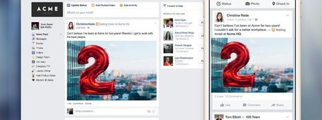Facebook at work will Yammer und IBM Connections Konkurrenz machen | Weiterbildung | Scoop.it