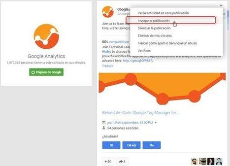 Cómo incrustar publicaciones de Facebook, Twitter y Google+ en un sitio web | curiosidad de una mujer madura | Scoop.it