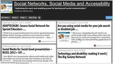 SIG Update: Inclusive Learning Special Interest Group | ALT Online ... | Social Networks, Social Media and Accessibility | Scoop.it