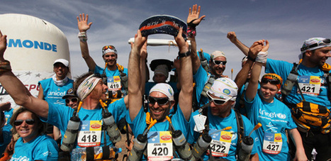 Sand Marathon - Spectacular prize-giving | Press Review about the Joëlette | Scoop.it