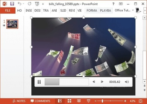 Animated Money Video Backgrounds For PowerPoint | PowerPoint Presentation | Business and Productivity Tools | Scoop.it