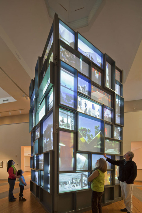 'Voices of Design: 25 Years of Architalx' Exhibition »  Retail Design Blog | Projection | Scoop.it