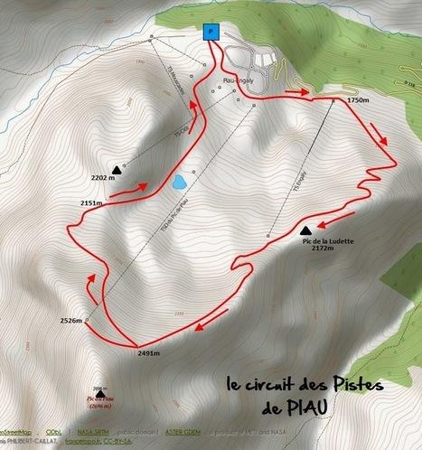 Entre Aure et Lavedan Randonnées: Les pistes de PIAU   PIAU-ENGALY Animation   Scoop.it