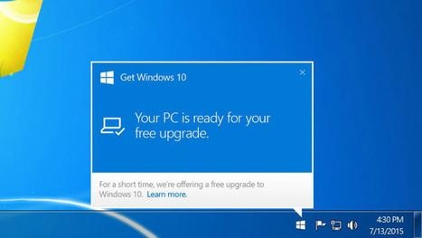 Windows 10 ya está casi entre nosotros: esto es todo lo que tienes que saber | Recull diari | Scoop.it