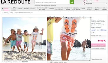 La Redoute : un nudiste se glisse sur une photo de vêtements pour enfant » Menly | Bien communiquer | Scoop.it