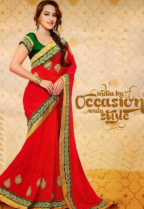 Online Shopping for Bollywood Saree Collection at Desibutik | Salwar Kameez: Yami Gautam Collection | Scoop.it