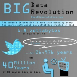 BIG Data Revolution | Visual.ly | Emergent Digital Practices | Scoop.it