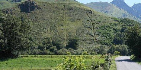 Insolite en Béarn : un ours dessiné dans la montagne | Chronique d'un pays où il ne se passe rien... ou presque ! | Scoop.it