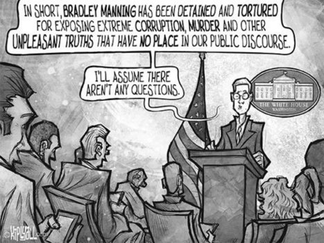 Attorneys in Bradley Manning Trial Fight Over Tweet Authenticity   Politics, Liberties and Rights   Scoop.it