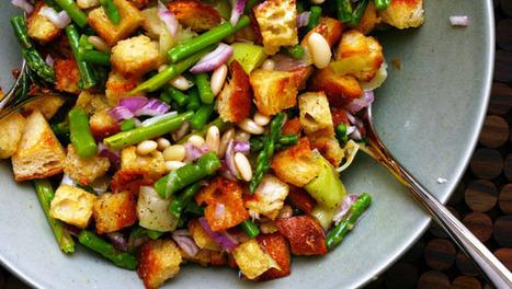Spring Panzanella | Dashrecipes.com | Healthy Meals | Scoop.it