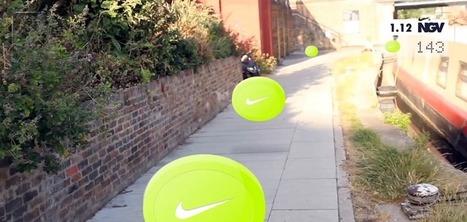 En Allemagne, des étudiants imaginent un jeu en réalité augmentée pour runners à base de Google Glass et Nike+ | Mangez des News | Scoop.it