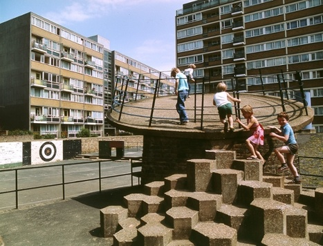 Brutalist playgrounds: 1960s concrete jungle gyms remade in pastel foam | D_sign | Scoop.it