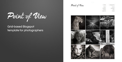 Point Of View Blogger Template Free Download - GuidePedia | www.guidepedia.info | Scoop.it