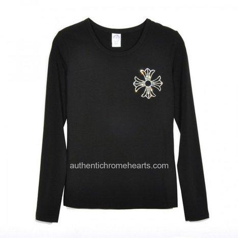 Cheap Diamonds Big Crosses Long Black Chrome Hearts T-Shirts [Chrome Hearts Long Sleeves Shirts] - $173.00 : Authentic Chrome Hearts | Chrome Hearts Online | Boutique | Scoop.it