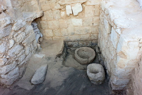A 1,500 year old livestock stable found in the 'Avdat' National Park | News in Conservation | Scoop.it