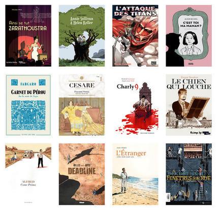 Angoulême 2014 : la sélection officielle ! | A propos de la bande dessinée | Scoop.it