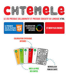 cHTeMeLe – le jeu de plateau certifié HTML5 » Télécharger | Digital Learning Invador | Scoop.it