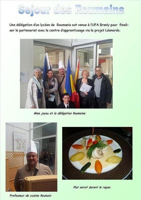 Sejour des Roumains pour finaliser le projet Léonardo | La revue de presse du Lycée Branly de La Roche sur Yon | Scoop.it