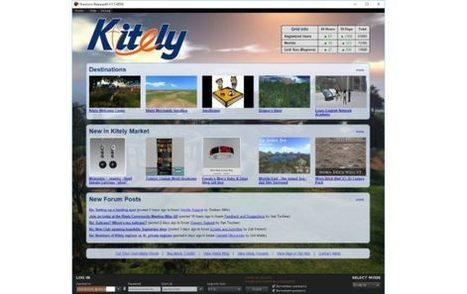 Kitely add stats to login screen – | Virtual Worlds, Virtual Reality & Role Play | Scoop.it