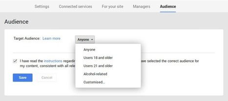 Google+ now allows you to set a target audience for Google+ Pages   Google Plus Daily   GooglePlus Expertise   Scoop.it