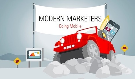 How Marketers Are Using Mobile - #infographic | Luxe et Digital | Scoop.it