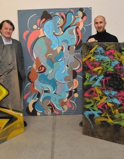 Le trait solidaire des graffeurs | Le Street Art - Art de la rue - Graffiti - TAG | Scoop.it