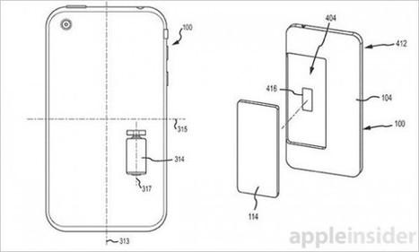 Apple dépose un brevet pour modifier la position d'un iPhone pendant sa chute | Veille technologique et brevets d'invention | Scoop.it