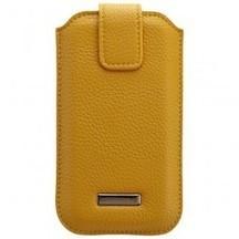 COMMANDER ROMA Leder Tasche yellow f. Apple iPhone 6 Plus | tablet pc zubehör | Navigations-Zubehoer | Scoop.it