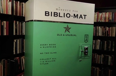 """The Monkey's Paw launches the AMAZING """"Biblio-Mat"""" Book-Vending Machine 