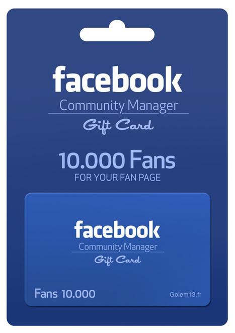 Des cartes cadeaux pour Community Managers !!!   Social Media Curation par Mon Habitat Web   Scoop.it
