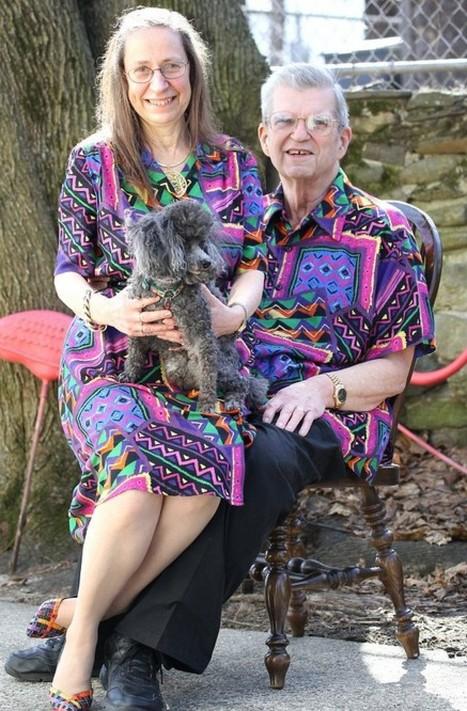 Par amour, un couple s'habille pareil depuis 33 ans (PHOTOS)   actuchiffres   Scoop.it